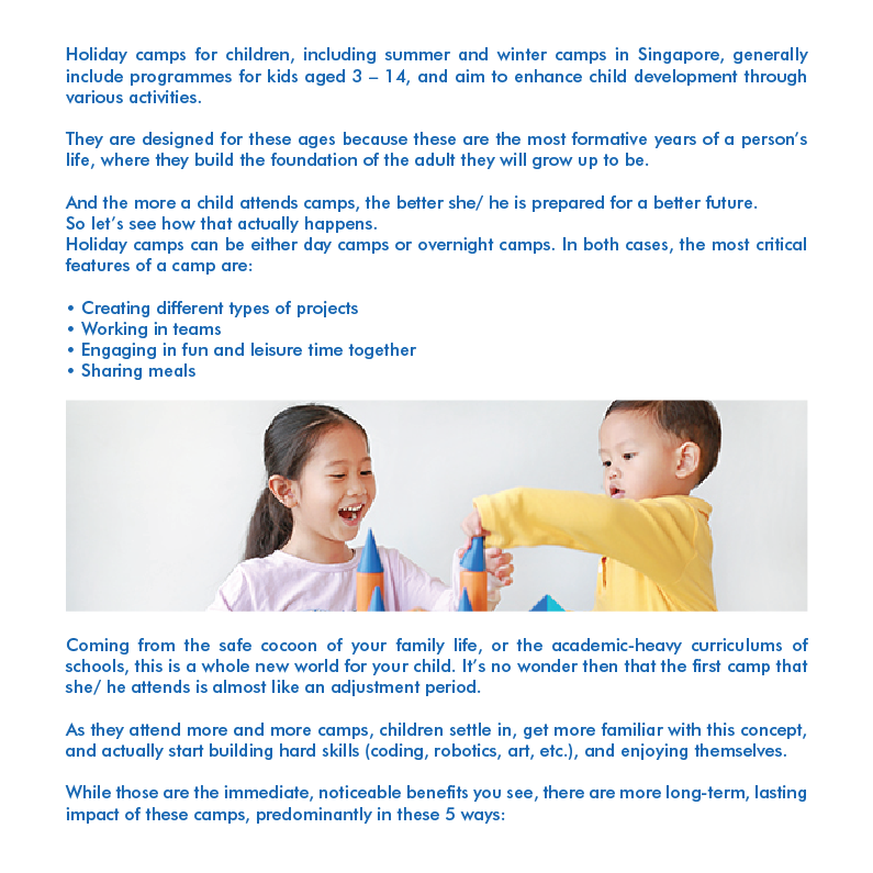 5 Ways in Which Regular Holiday Camps Prepare Your Child for Life-02