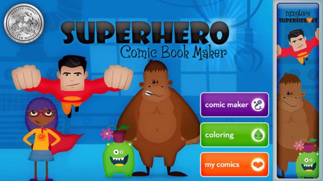 superhero comic book educational app.png